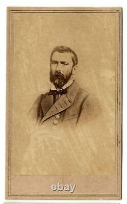 Civil War CDV Confederate General Richard Taylor
