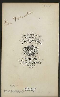 Civil War CDV Confederate General William J Hardee 2