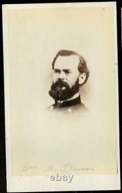 Civil War CDV General James McPherson Killed at Atlanta 1864