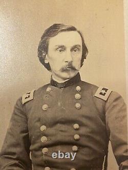 Civil War CDV Major General G. K Warren