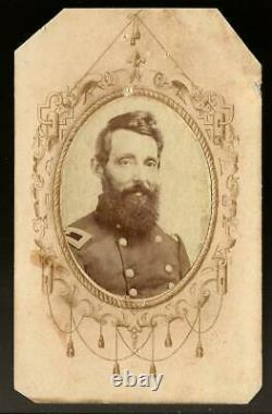 Civil War CDV Union Cavalry General Benjamin Grierson, Famous Raid