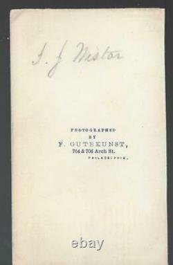 Civil War CDV Union Colonel/General Isaac Wistar