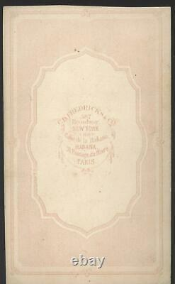 Civil War CDV Union General Abner Doubleday, Baseball