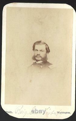 Civil War CDV Union General Alfred Torbert Cavalry