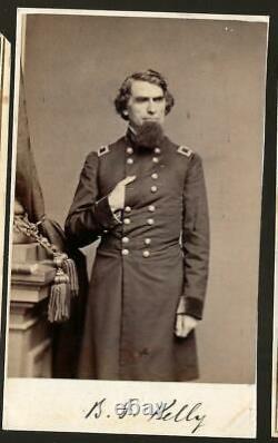 Civil War CDV Union General Benjamin Franklin Kelly West Virginia Theater