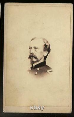 Civil War CDV Union General Daniel Sickles Lost Leg at Gettysburg