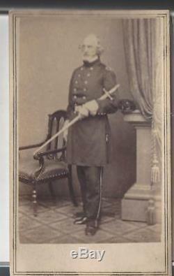 Civil War CDV Union General Daniel Tyler of Connecticut