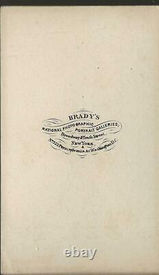Civil War CDV Union General David B Birney III Corps a
