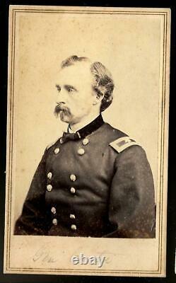 Civil War CDV Union General George A Custer