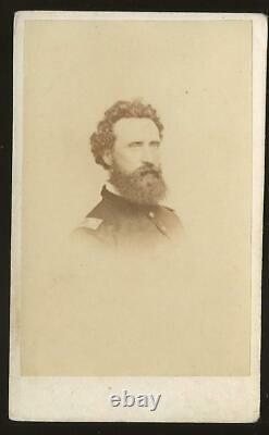 Civil War CDV Union General George Sykes, with outstanding Inscription