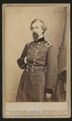 Civil War CDV Union General George W Shepley of Maine