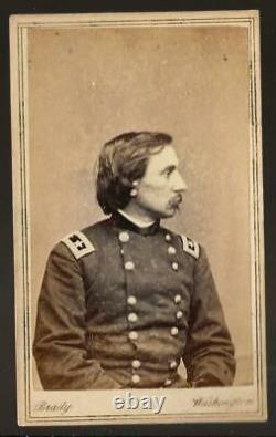 Civil War CDV Union General Gouverneur Warren V Corps by Brady