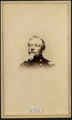 Civil War CDV Union General Henry Bohlen KIA West Virginia