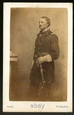 Civil War CDV Union General Israel Richards Mortally Wounded Antietam