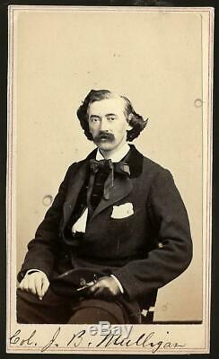 Civil War CDV Union General James A Mulligan KIA Opequan