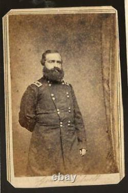 Civil War CDV Union General John C Caldwell II Corps Very Rare