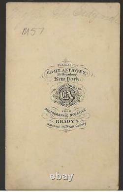 Civil War CDV Union General Johns Sedgwick VI Corps Corps Badge