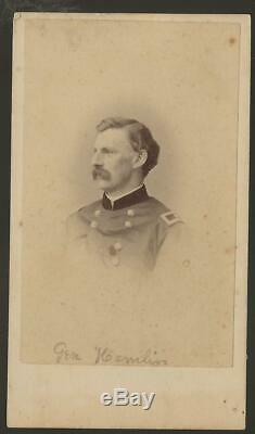 Civil War CDV Union General Joseph Hamblin 7th NYSM, 5thNYV 65th NYV