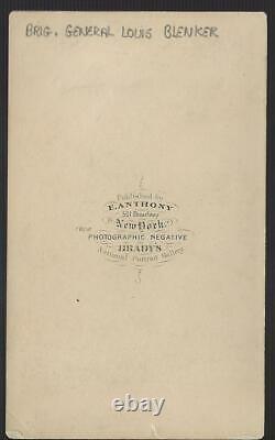 Civil War CDV Union General Louis Blenker