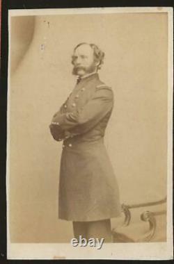 Civil War CDV Union General Randolph Marcy