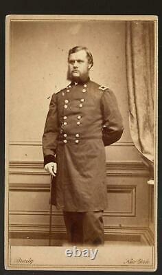 Civil War CDV Union General Robert O Tyler Artillery Army of the Potomac