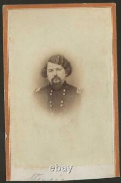 Civil War CDV Union General Samuel Sturgis Cavalry