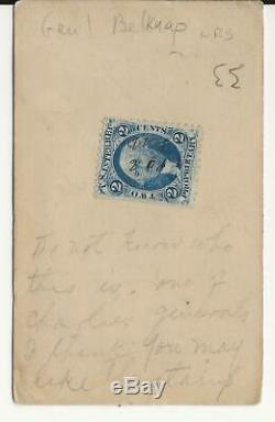 Civil War CDV Union General William Belknap General, Cabinet, Scandels