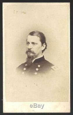 Civil War CDV Union General Winfield Scott Hancock by Addis