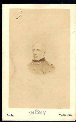 Civil War CDV of Union General James Wadsworth KIA Wilderness