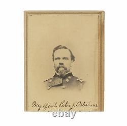 Civil War CDV of Union General Peter J. Osterhaus