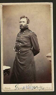 Civil War CDV's General Hiram Berry Maine KIA Chancellorsville