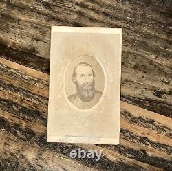 Civil War Confederate General J. E. B. Stuart 1860s CDV Photo