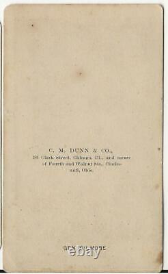 Civil War Era CDV Union General Quincy Gilmore X Corps