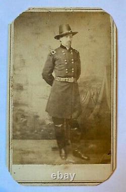 Civil War Era CDV of Brig. General Charles A. Heckman 9th New Jersey Infantry