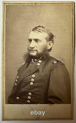 Civil War Era CDV of Union Major General Hugh Judson Kilpatrick Kil-Cavalry