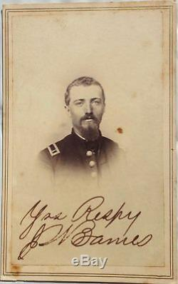 Civil War Full Plate Tintype of 2nd Brigade 16th Army General Dodge's Staff