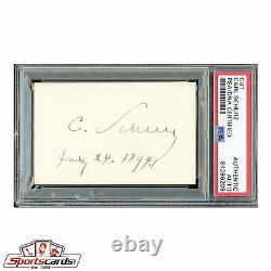 Civil War General Carl Schurz Signed Autographed Card PSA/DNA