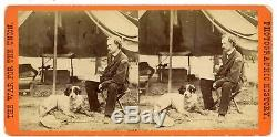 Civil War General Custer at His Head Quarters in the Field