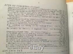 Civil War, General Orders, War Department, Lincoln 1862, 1863,1864 Rare books