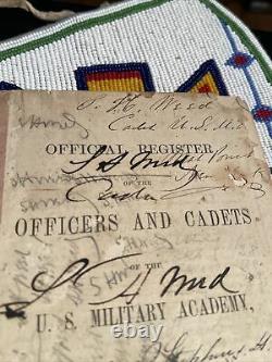 Civil War General Weeds Kia Gettysburg Signed West Point Manual When Cadet Usma