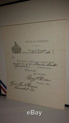 Civil War ID'D Major General Epaulets
