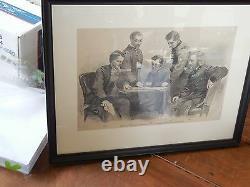 (Civil War Photograph of) Sheridan and his Generals