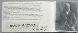 Civil War Relic Leather Wallet Inscribed General. Edgar D Taylor