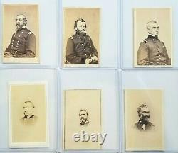 Collection 23 Original CDV Union General Civil War Brady Photo Grant Meade +