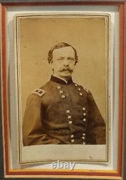 Daniel Sickles -US Civil War General-Original Signed letter & CDV Photo -c1860