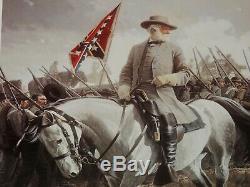 David Wright General Robert E. Lee On Traveler Collectible Civil War Print
