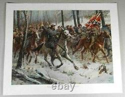 Don Troiani Civil War Print GENERAL NATHAN BEDFORD FORREST Signed COA 177/1250
