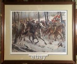 Don Troiani General Nathan Bedford Forrest 35 Framed Civil War Litho SIGNED