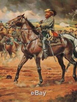 Don Troiani Major General JEB Stuart Civil War Print Mint Condition