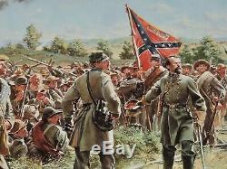 Don Troiani UNTIL SUNDOWN Collectible Civil War Print General Lee